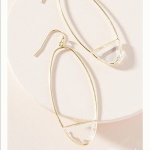 New Oval Hoop Earrings from Anthropologie